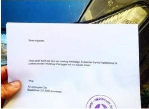 politiebrief