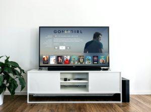 moderne televisie