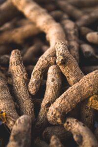 gember wortels